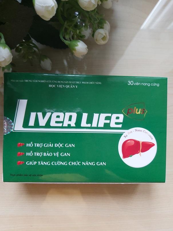 liver life học viện quân y